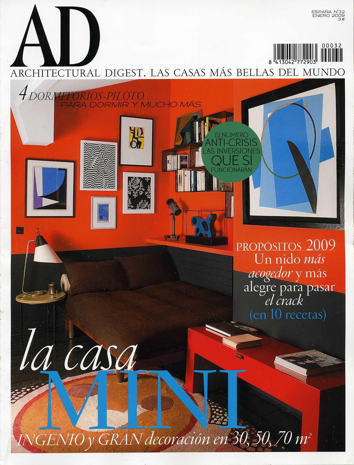 AD-Architectural Digest (Las casas más bellas del mundo)