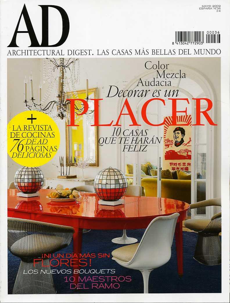 AD-Architectural Digest (Las casas más bellas del mundo).