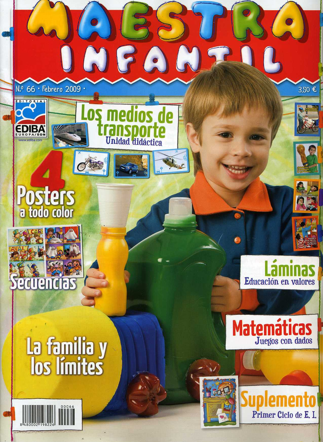 MAESTRA INFANTIL, 66 (Febrero de 2009)