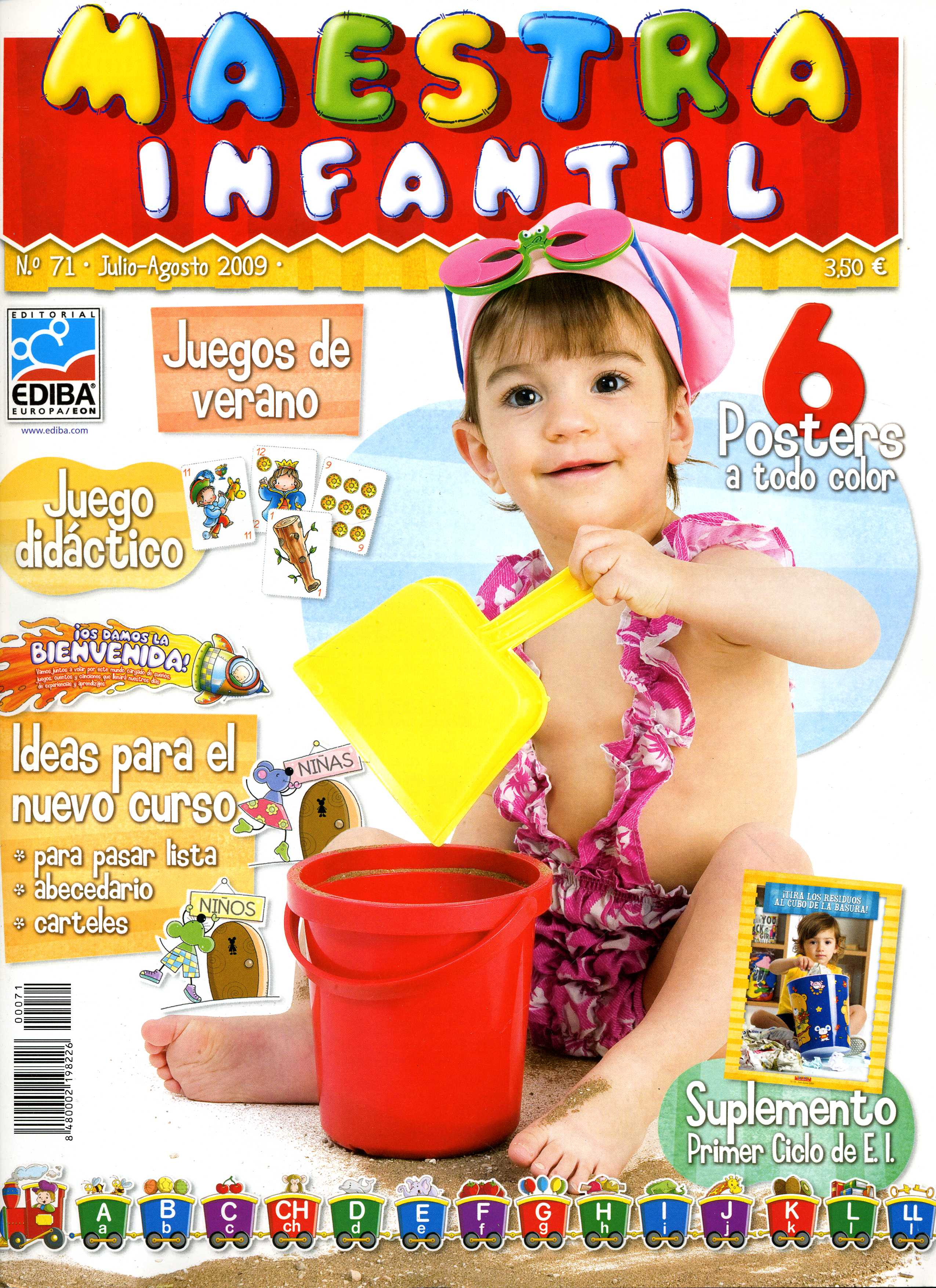 MAESTRA INFANTIL, 71 (Julio-Agosto de 2009)