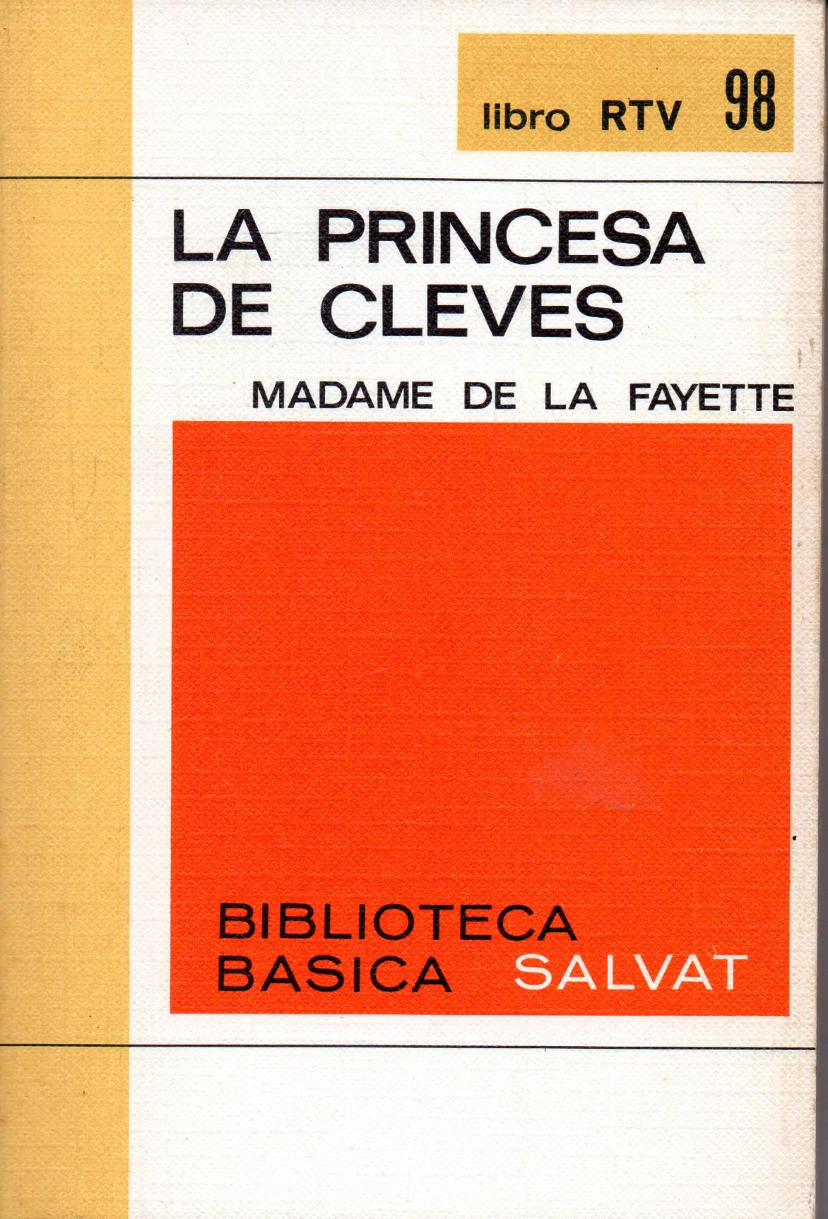 «La princesa de Cleves»