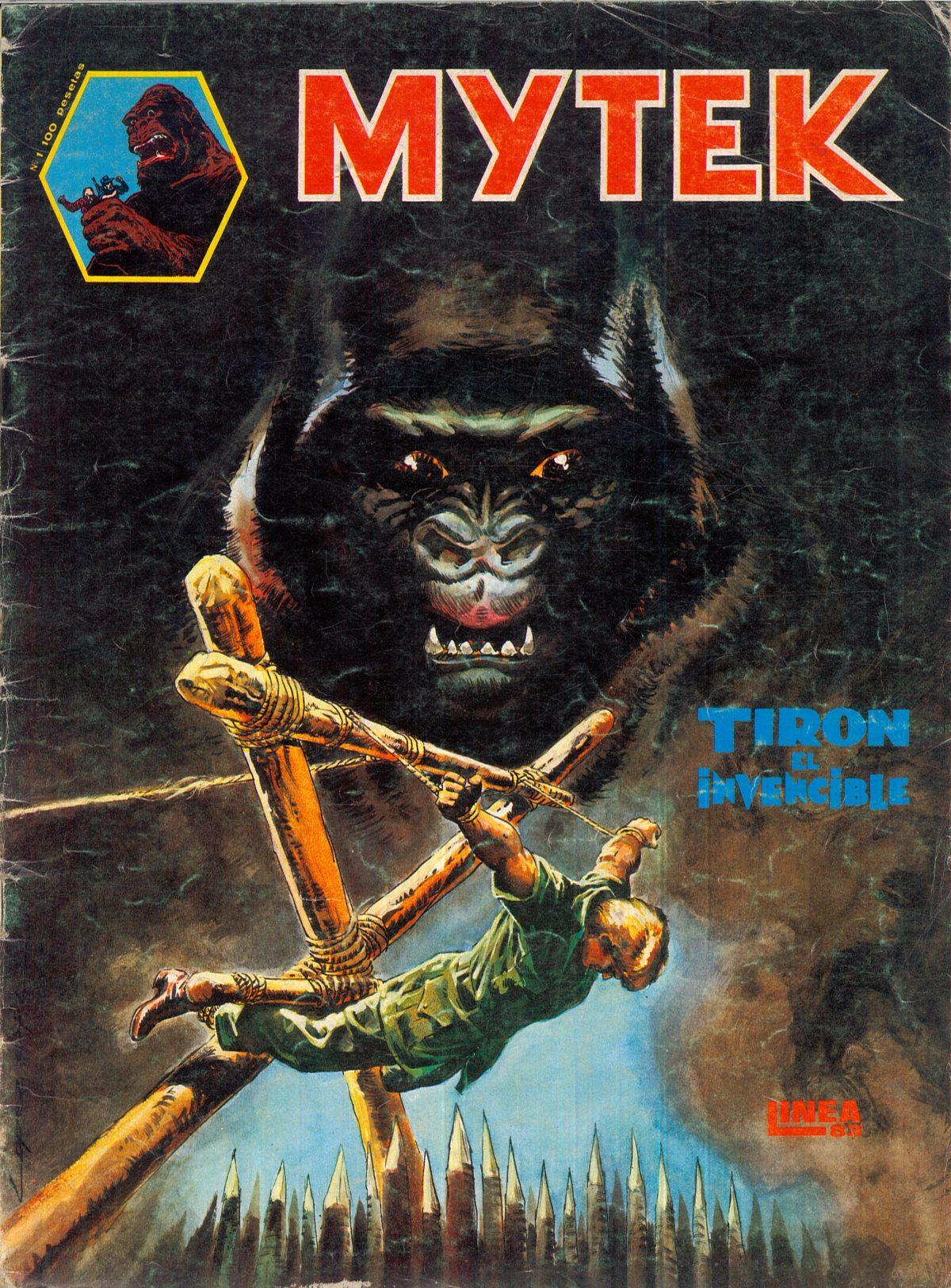"""""""Mytek-Tiron el invencible"""""""