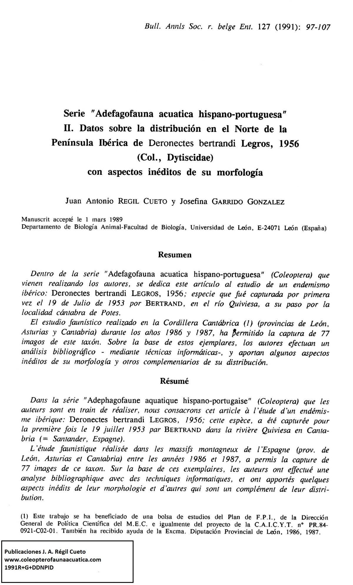 Referencia: [1991R+G+DDNPID]