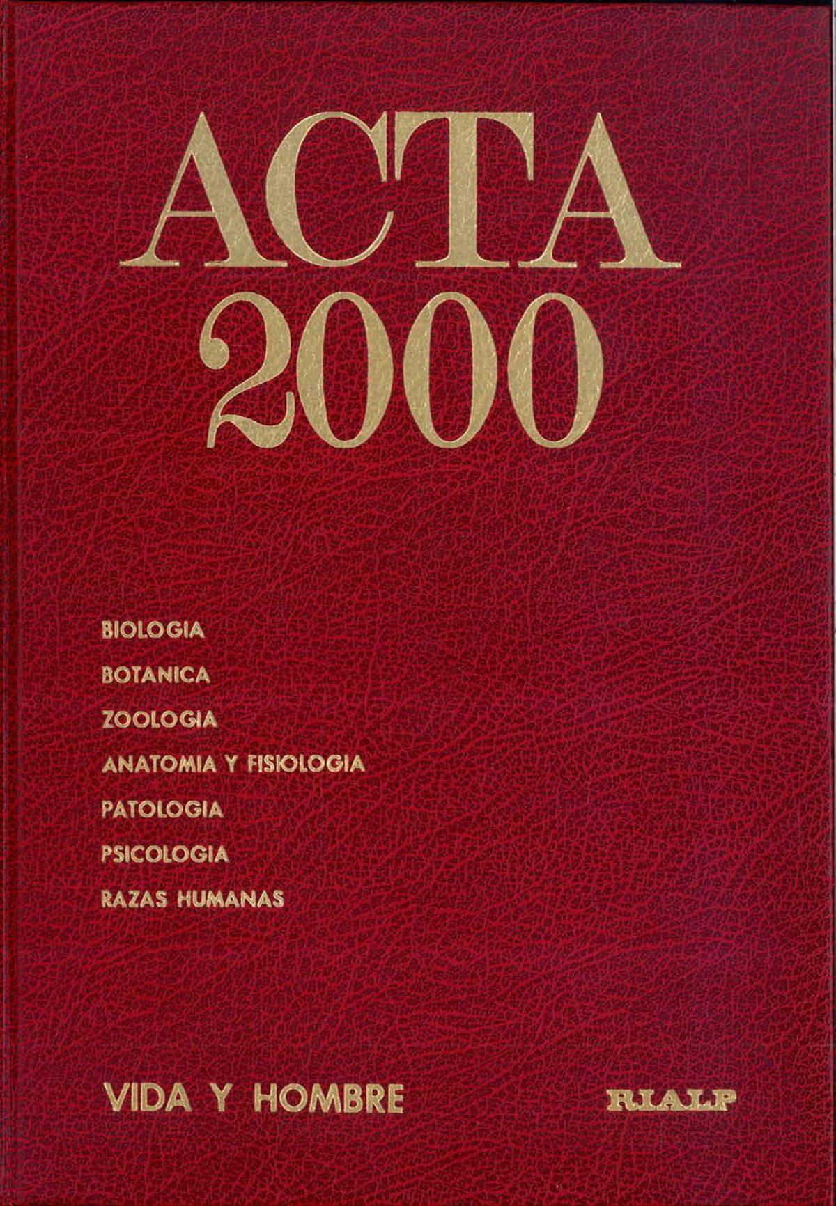 """""""ACTA 2000"""""""