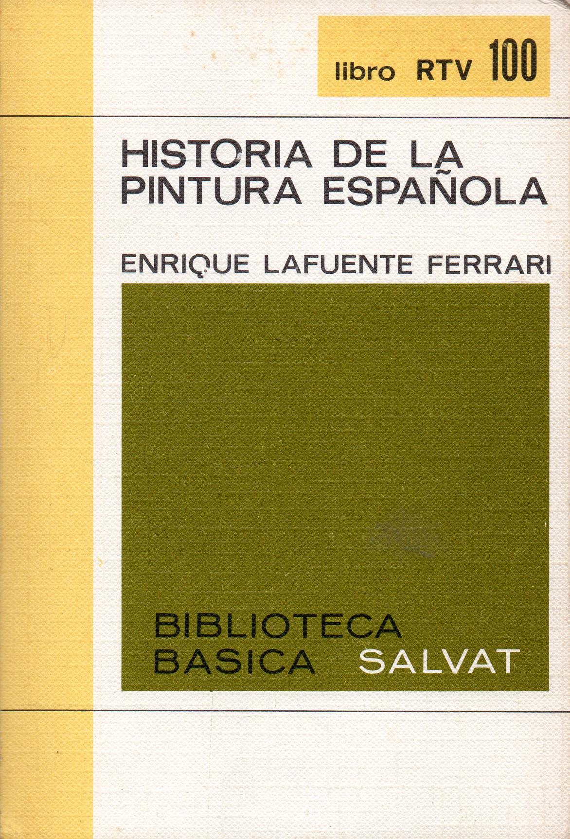 """Historia de la pintura española"""
