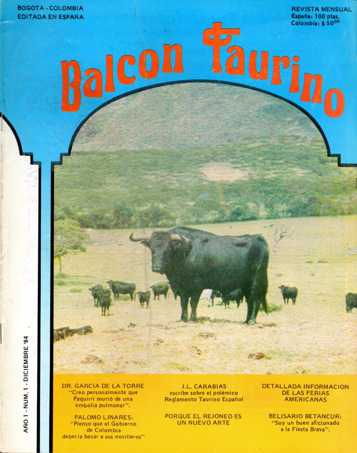 """""""Balcón taurino"""""""