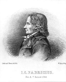 """""""FABRICIUS, Johann Christian"""""""