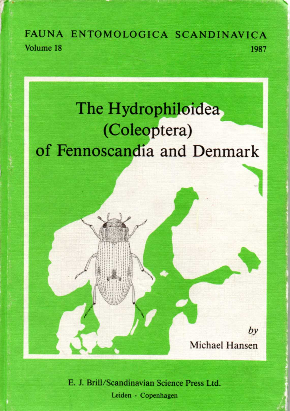 """The Hydrophiloidea (Coleoptera) of Fennoscandia and Denmark"""