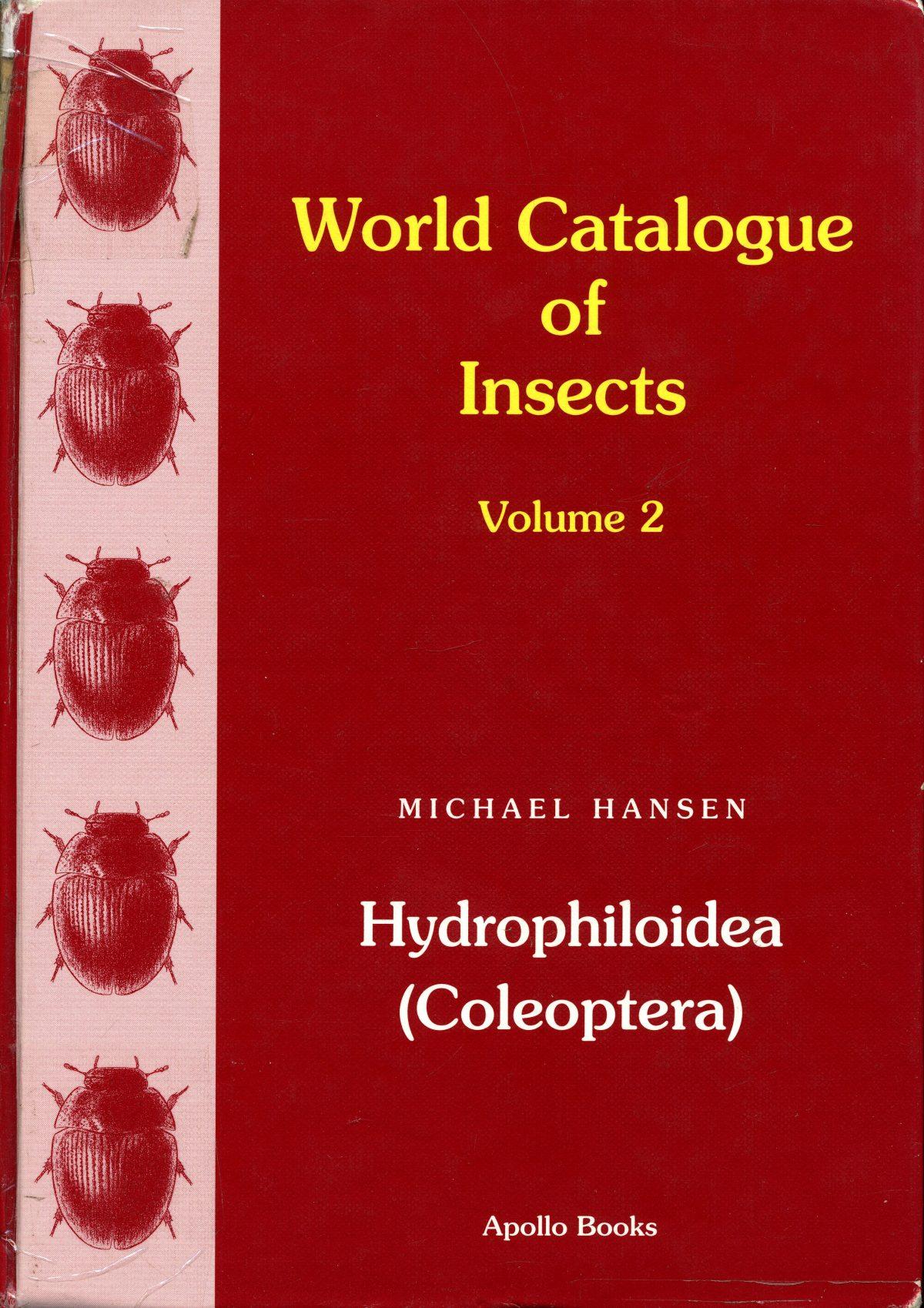 """""""Hydrophiloidea (Coleoptera)"""""""