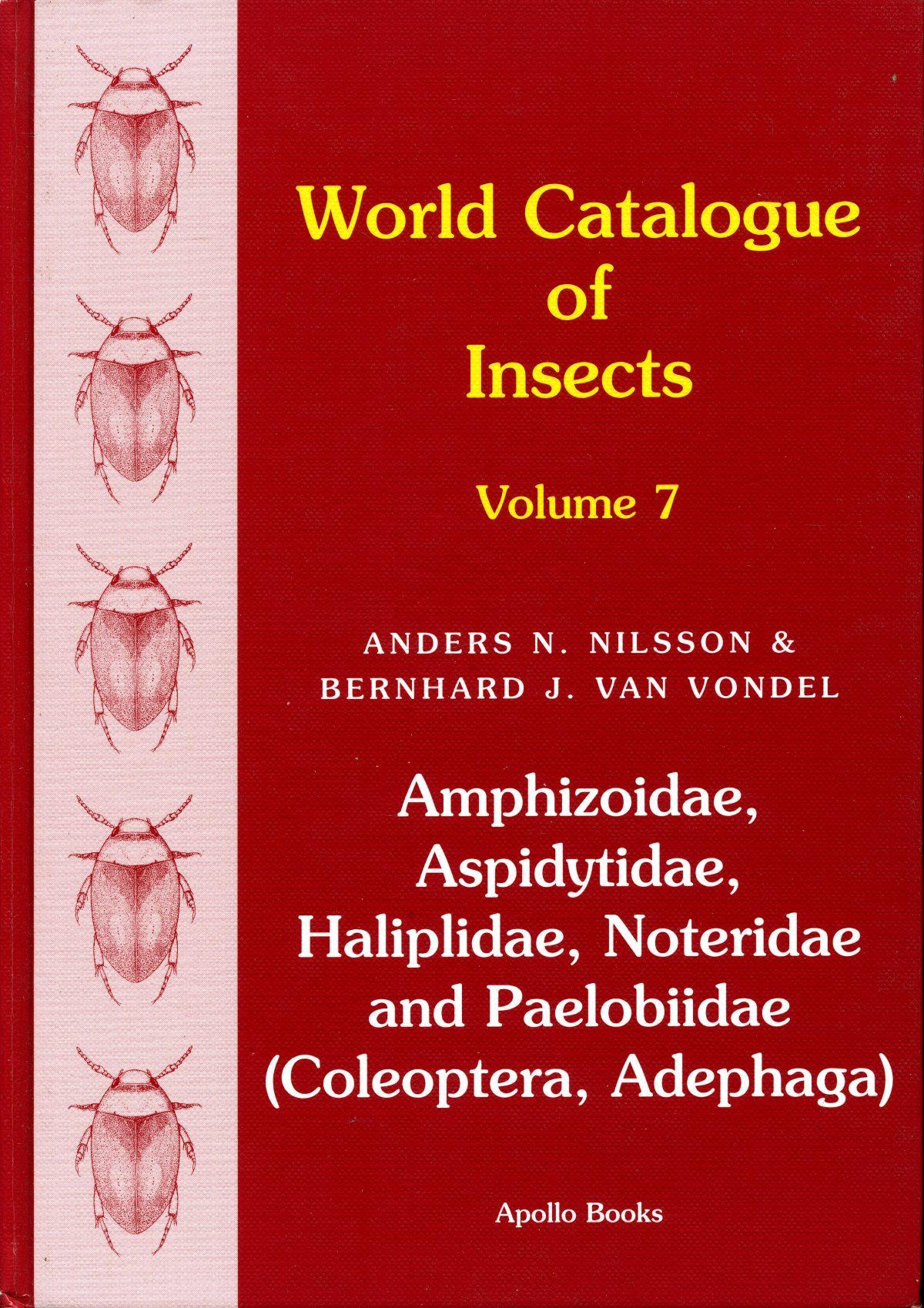 """Amphizoidae, Aspidytidae, Haliplidae, Noteridae and Paelobiidae (Coleoptera, Adephaga)"""