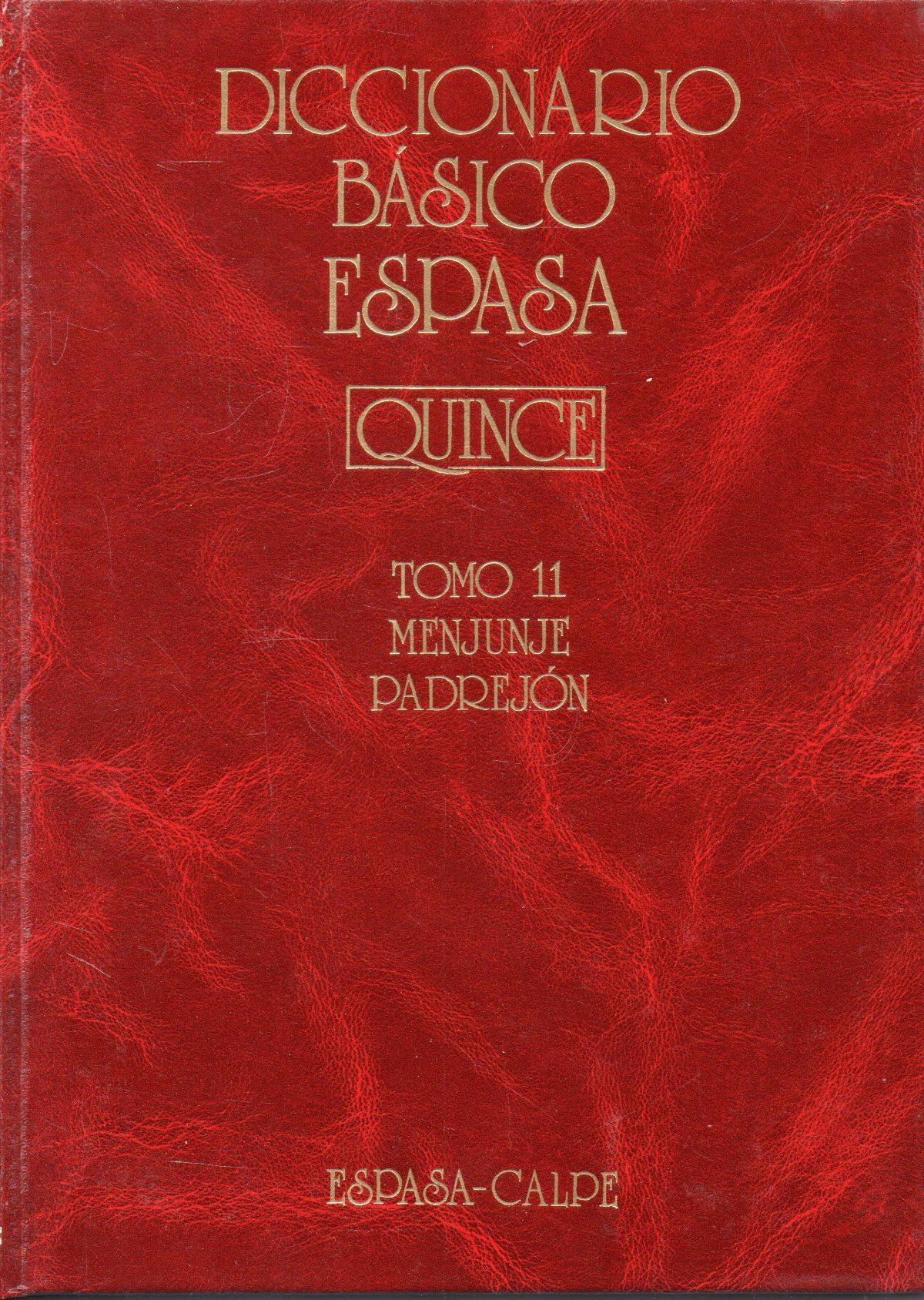 """""""Diccionario Básico Espasa-Quince"""""""
